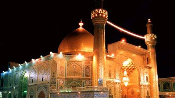Salutation to Hazrat Ali on his martyrdom day; there is none like him in the encyclopedia of Islam.