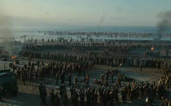 A scene from the film Dunkirk