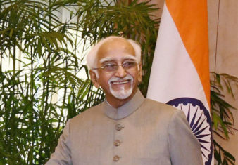 VP-India Mr. Hamid Ansari
