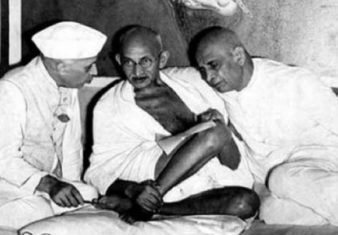 Trinity of Nehru, Gandhi and Patel