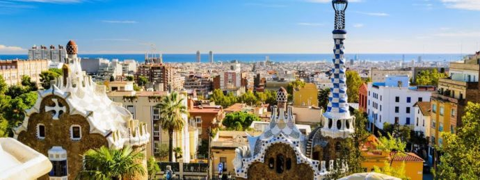Scenic View of Barcelona