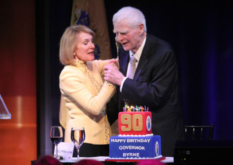 Governor Byrne at his 90th b'day celebration