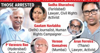 The debate on the arrest of 'Urban Naxals'